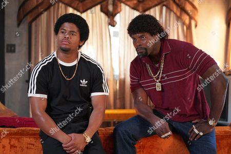 Isaiah John as Leon Simmons and Amin Joseph as Jerome Saint