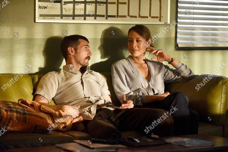 Carter Hudson as Teddy McDonald and Peta Sergeant as Julia