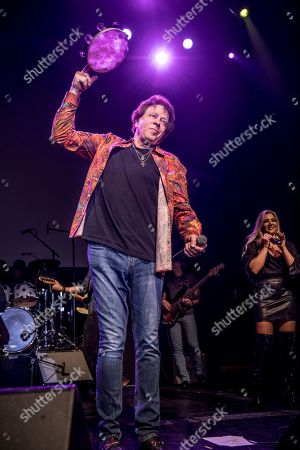 Editorial picture of Eddie Moneyin concert at The Bammies Reunion Concert at Regency Ballroom, San Francisco, USA - 24 Mar 2018