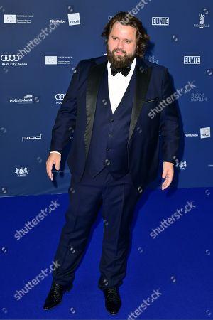 German-Suisse actor Antoine Monot Jr. arrives to the German Drama Award (Deutscher Schauspielpreis) in Berlin, Germany 13 September 2019.