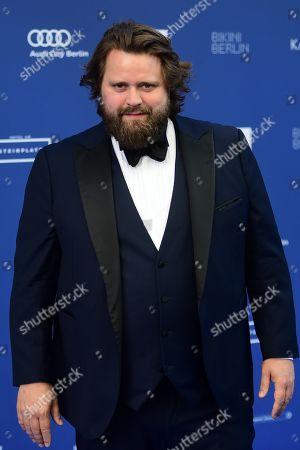 Stock Picture of German-Suisse actor Antoine Monot Jr. arrives to the German Drama Award (Deutscher Schauspielpreis) in Berlin, Germany 13 September 2019.