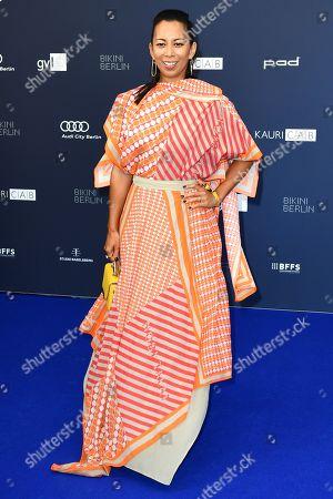 Stock Image of Minh-Khai Phan-Thi arrives for the German Drama Award (Deutscher Schauspielpreis) in Berlin, Germany 13 September 2019.