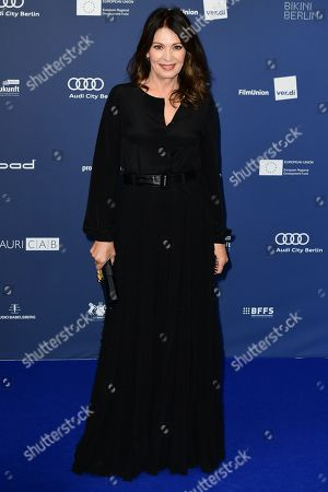Stock Picture of Iris Berben arrives to the German Drama Award (Deutscher Schauspielpreis) in Berlin, Germany 13 September 2019.