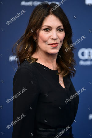 Iris Berben arrives to the German Drama Award (Deutscher Schauspielpreis) in Berlin, Germany 13 September 2019.