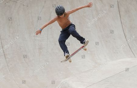 Editorial photo of Skate Park World Championship, Sao Paulo, Brazil - 13 Sep 2019