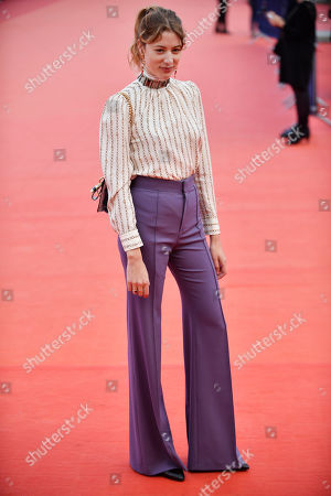 Sigrid Bouaziz arrives on the red carpet prior to the premiere of 'Seberg' during the 45th Deauville American Film Festival, in Deauville, France, 13 September 2019. The festival runs from 06 to 15 September 2019.
