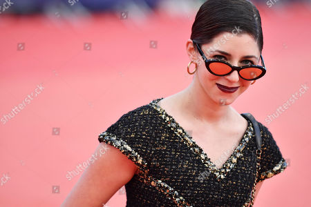 Annabelle Attanasio arrives on the red carpet prior to the premiere of 'Seberg' during the 45th Deauville American Film Festival, in Deauville, France, 13 September 2019. The festival runs from 06 to 15 September 2019.