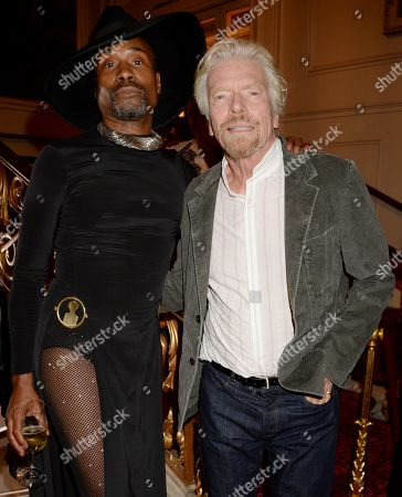 Billy Porter and Sir Richard Branson