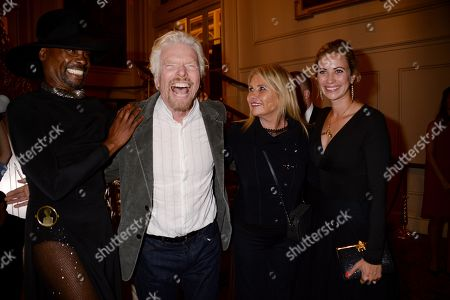 Billy Porter, Sir Richard Branson, Joan Branson and Holly Branson