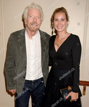 Sir Richard Branson and Holly Branson