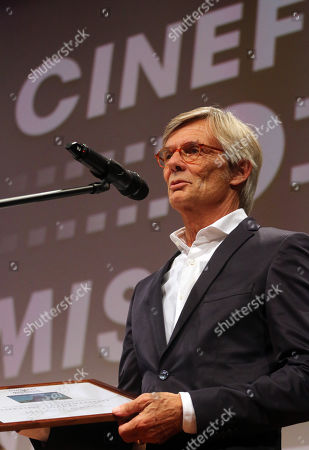 Editorial image of Danish film director Bille August awarded in Hungary, Miskolc - 13 Sep 2019