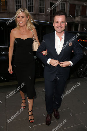 Ali Astall and Declan Donnelly