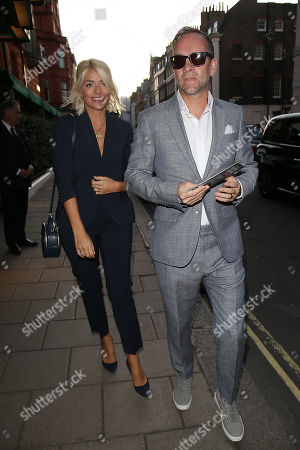 Holly Willoughby and Daniel Baldwin