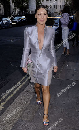Editorial picture of Gyunel Couture party, Arrivals, Spring Summer 2020, London Fashion Week, UK - 13 Sep 2019