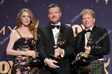 Annabel Jones, Charlie Brooker and Russell McLean - Television Movie - 'Bandersnatch (Black Mirror)'