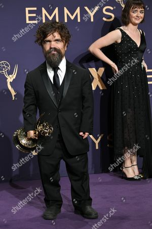 Peter Dinklage - Supporting Actor In A Drama Series - 'Game Of Thrones', with Maisie Williams