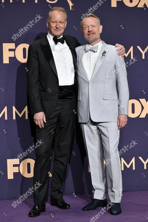 Stellan Skarsgard and Jared Harris