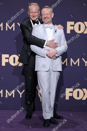 Stock Image of Stellan Skarsgard and Jared Harris