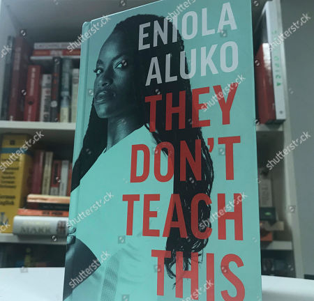 "The front cover of the autobiography written by English soccer player Eniola Aluko, London, England. . Soccer star Eni Aluko is condemning Amazon for not removing racist reviews of her memoir posted on the online retailer's web site. Of the 31 reviews on Amazon, 27 gave ""They Don't Teach This,"" which details the discrimination Aluko faced during her England career, a one-star rating. Readers have used the platform to call the book ""fiction,"" ""anti-white racist drivel"" and accuse the Juventus forward of choosing to ""play the race card"" and ""coming across as a racist herself"