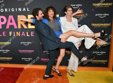Jay Duplass, Amy Landecker and Gaby Hoffmann