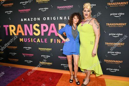 Amy Landecker and Shakina Nayfack