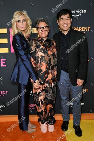 Judith Light, Jill Soloway and Albert Cheng