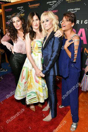 Stock Picture of Trace Lysette, Kathryn Hahn, Judith Light and Alexandra Billings
