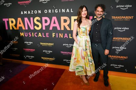 Stock Photo of Kathryn Hahn and Jay Duplass