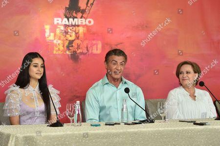Editorial image of 'Rambo V: Last Blood' photocall, Los Angeles, USA - 13 Sep 2019