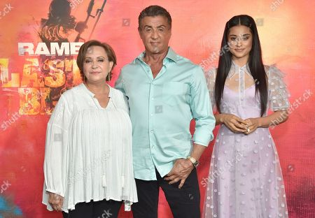 Editorial picture of 'Rambo V: Last Blood' photocall, Los Angeles, USA - 13 Sep 2019