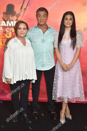 Editorial photo of 'Rambo V: Last Blood' photocall, Los Angeles, USA - 13 Sep 2019