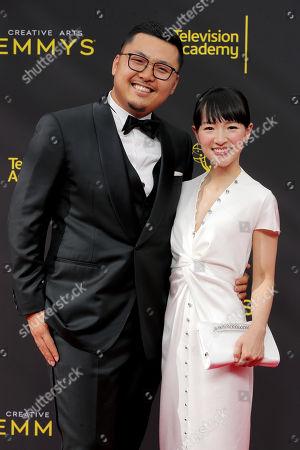 Takumi Kawahara and Marie Kondo