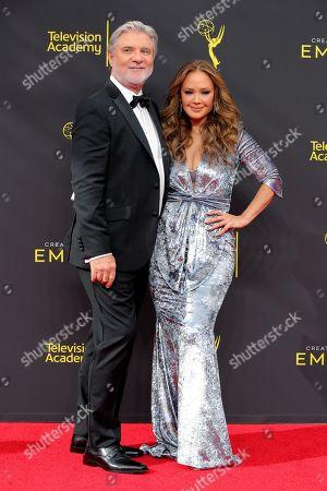 Mike Rinder and Leah Remini