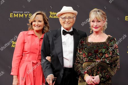Norman Lear, Lyn Lear and guest
