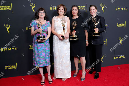 Stock Picture of Julie Cohen, Betsy West, Amy Entelis and Courtney Sexton - Outstanding Exceptional Merit In Documentary Filmmaking - 'RGB