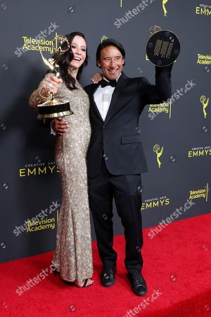 Elizabeth Chai Vasarhelyi and Jimmy Chin - Outstanding Directing for a Documentary/Nonfiction Program - 'Free Solo'