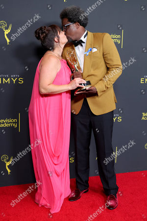 Melissa Bell and W. Kamau Bell - Outstanding Unstructured Reality Program - 'United Shades Of America With W. Kamau Bell '