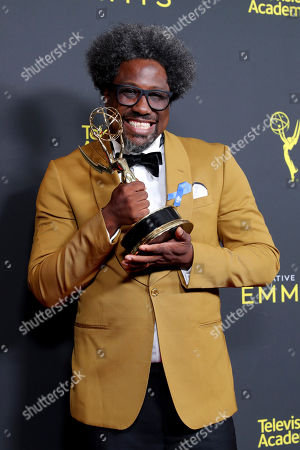 Editorial photo of 71st Annual Primetime Creative Arts Emmy Awards, Day 1, Press Room, Microsoft Theater, Los Angeles, USA - 14 Sep 2019