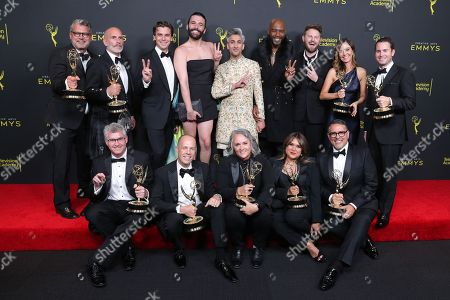 Editorial picture of 71st Annual Primetime Creative Arts Emmy Awards, Day 1, Press Room, Microsoft Theater, Los Angeles, USA - 14 Sep 2019