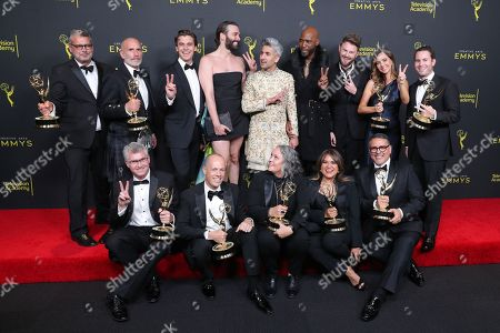 Editorial image of 71st Annual Primetime Creative Arts Emmy Awards, Day 1, Press Room, Microsoft Theater, Los Angeles, USA - 14 Sep 2019