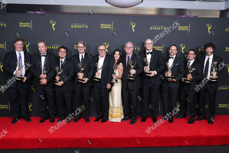 Al Jean, John Frink, Ryan Koh, Richard Raynis, Tom Klein, Andrea Romero, Mike B. Anderson, Michael Price, Rob Oliver, Eddie Rosas and Carlton Batten - Outstanding Animated Program - 'The Simpsons'