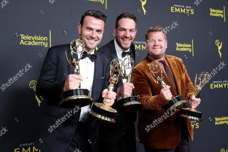 Ben Winston and James Corden - Outstanding Short Form Variety Series - 'Carpool Karaoke: The Series'