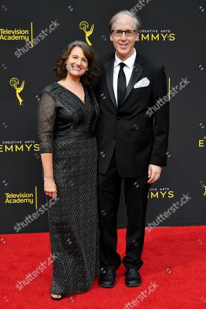 Stock Image of Joan Beal and Jeff Beal