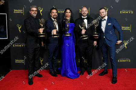 Angus Wall, Kirk H. Shintani, Shahana Khan, Ian Ruhfass and Rustam Hasanov - Outstanding Main Title Design - 'Game of Thrones'