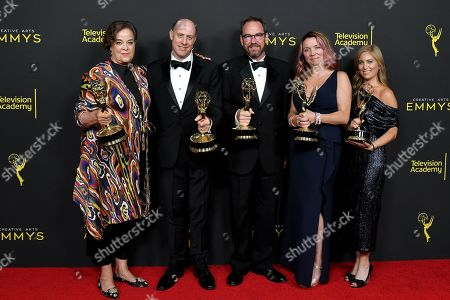 "Mindy Fila, Brown Johnson, Benjamin Lehmann, Ken Scarborough and Karyn Leibovich - Stephanie Longardo, Outstanding Children's Program - ""When You Wish Upon A Pickle: A Sesame Street Special'"