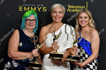 Editorial picture of 71st Annual Primetime Creative Arts Emmy Awards, Day 2, Press Room, Microsoft Theater, Los Angeles, USA - 15 Sep 2019