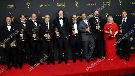 Matthew E. Taylor, Sean Heissinger, Rickley W. Dumm, Mark Allen, John Creed, Harrison Meyle, Michael Brake, Clayton Weber, Alyson Dee Moore and Chris Moriana - Outstanding Sound Editing for a Comedy or Drama Series (Half-Hour) And Animation - 'Barry'