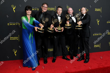 Editorial photo of 71st Annual Primetime Creative Arts Emmy Awards, Day 2, Press Room, Microsoft Theater, Los Angeles, USA - 15 Sep 2019