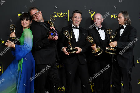Editorial image of 71st Annual Primetime Creative Arts Emmy Awards, Day 2, Press Room, Microsoft Theater, Los Angeles, USA - 15 Sep 2019