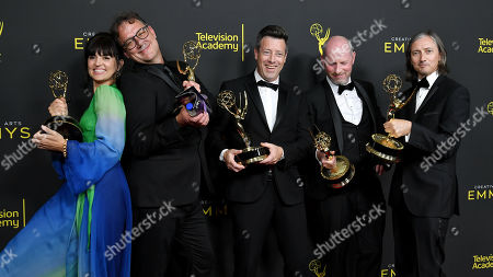 Onnalee Blank, Mathew Waters, Simon Kerr, Danny Crowley, and Ronan Hill - Outstanding Sound Mixing for a Comedy or Drama Series (One Hour) - 'Game of Thrones'